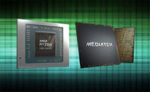 شایعه مشارکت AMD و MediaTek برای تولید تراشه های تلفن همراه