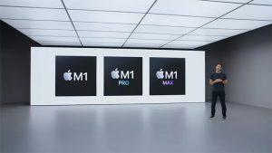 پردازنده های اپل مدل M1 PRO با 10 هسته و M1 MAX تا 32 هسته در راهند
