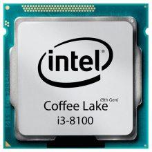 پردازنده اینتل سری Coffee Lake مدل Intel Core i3-8100 بدون جعبه