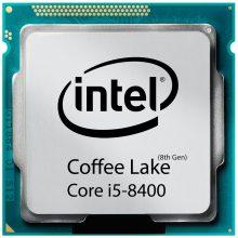 پردازنده اینتل سری Coffee Lake مدل Intel Core i5-8400 بدون جعبه