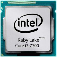 پردازنده اینتل سری Kaby Lake مدل Intel Core i7-7700 بدون جعبه