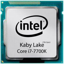 پردازنده اینتل سری Kaby Lake مدل Intel Core i7-7700K بدون جعبه