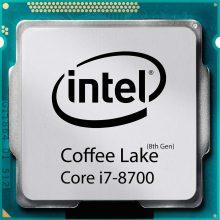 پردازنده اینتل سری Coffee Lake مدل Intel Core i7-8700 بدون جعبه