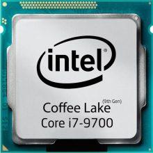 پردازنده اینتل سری Coffee Lake مدل Intel Core i7-9700 Tray