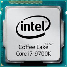 پردازنده اینتل سری Coffee Lake مدل Intel Core i7-9700K Tray