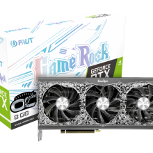 کارت گرافیک پلیت مدل Palit GeForce RTX 3070 OC GameRock 8GB